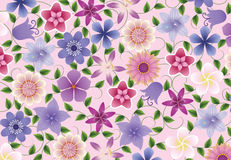 Floral background. Stock Photos