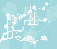 Floral background. A floral background royalty free illustration