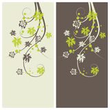 Floral background stock illustration