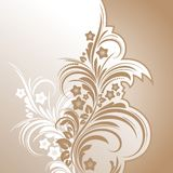Floral background abstract design Royalty Free Stock Images