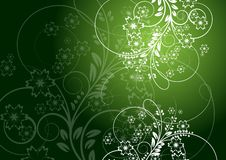 Floral background abstract design. Eps 10 Royalty Free Stock Images