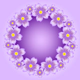 Floral background. Floral abstract background,  illustration Stock Images