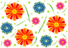 Floral background. Artwork for your background and print, vector Royalty Free Stock Photos