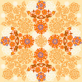 Floral background. Autumn design Royalty Free Stock Photo