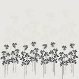 Floral background. Beautiful vector illustration. Royalty Free Stock Photos