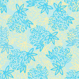 Floral background. Beauty vector texture. Creative background in pastel colors for your design, wrapping paper, scrapbook Royalty Free Stock Photo