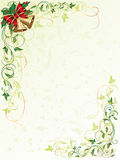 Floral background with bells Royalty Free Stock Photo