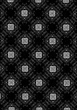 Floral Background black and white Royalty Free Stock Images