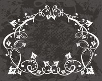 Floral background border Royalty Free Stock Photos