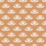 Floral background with colored seamless pattern. Design for wallpapers and textile Royalty Free Stock Photography