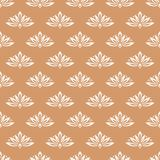 Floral background with colored seamless pattern. Design for wallpapers and textile Stock Photo