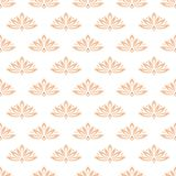 Floral background with colored seamless pattern. Design for wallpapers and textile Stock Image