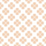 Floral background with colored seamless pattern. Design for wallpapers and textile Stock Images
