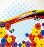 Floral background2 Royalty Free Stock Image