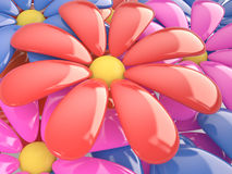 Floral background , 3D Stock Images