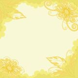 Floral background, dahlia Royalty Free Stock Photography