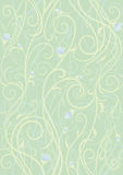 Floral Background. Background with decorative blooming plant, can use as pattern Royalty Free Stock Photos