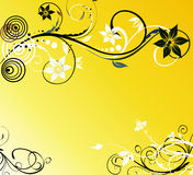 Floral background for design Royalty Free Stock Image