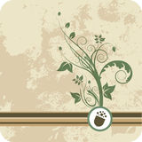 Floral background design Royalty Free Stock Images