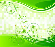 Floral background design Stock Photos