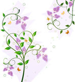 Floral background design Royalty Free Stock Photos