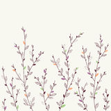 Floral background. Design elements Royalty Free Stock Image