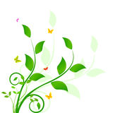 Floral background design Stock Photo