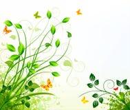 Floral background design Stock Image
