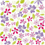 Floral background, easter Royalty Free Stock Photos