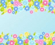 Floral background for Easter. Stock Images