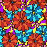 Floral background. field of multi colored bright summer colors f. Field of multi colored bright summer colors for the background Stock Images