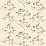 Floral background. Flat style. Vector illustration. Flat style. Vector illustration Royalty Free Stock Photography