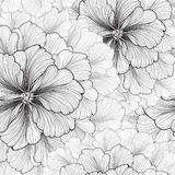 Floral background. Flower pattern. Flourish seamless texture Royalty Free Stock Image