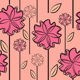 Floral background. flower seamless texture royalty free illustration