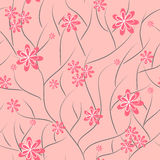 Floral background. flower seamless texture Royalty Free Stock Image