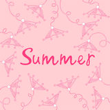 Floral background. Flowers from the garden. Summer Stock Photos