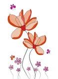 Floral background. In format stock illustration