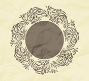 Floral background with frame Royalty Free Stock Photography