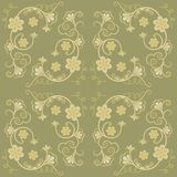 Floral background green Royalty Free Stock Photography
