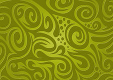 Floral background, green Stock Photo