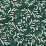 Floral background on green Royalty Free Stock Photography