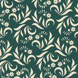 Floral background on green Stock Photography