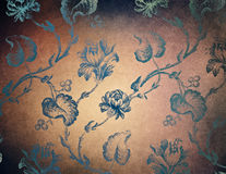 Floral background in grunge style Royalty Free Stock Photography