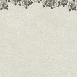 Floral background with grunge texture. Vintage floral background with grunge texture Stock Photo