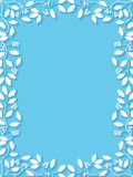 Floral background with holly. Vector illustration Royalty Free Stock Photos