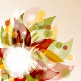 Floral background,  illustration Royalty Free Stock Photos