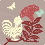Floral background illustration Stock Images