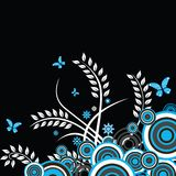 Floral background illustration Stock Photo