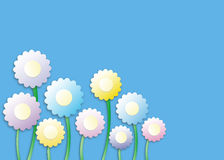 Sweet floral background Royalty Free Stock Photos