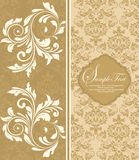 Floral background,invitation card Royalty Free Stock Photography